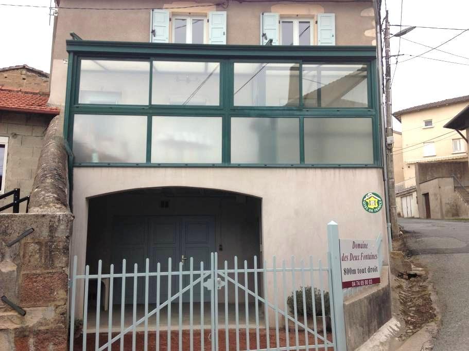 LE GITE DES PRES - Fleurie - Dům