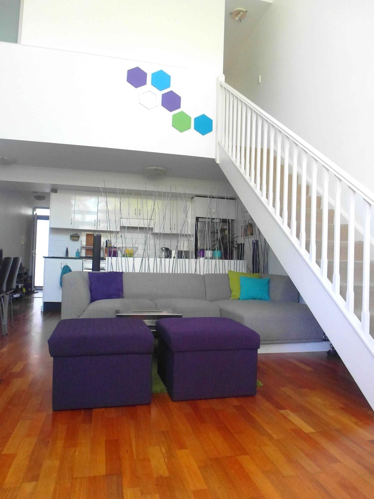 Room in a modern loft