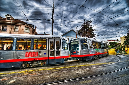 Downtown SF is 15 minutes away via the N-Judah light rail (just 5 stops)