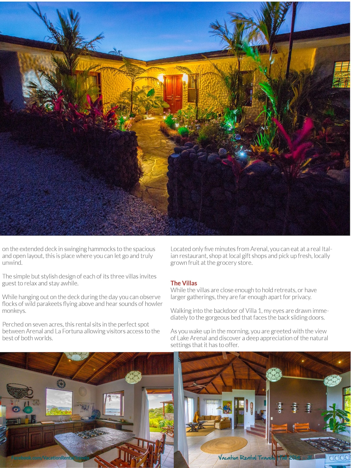 Vacation Home Magazine article