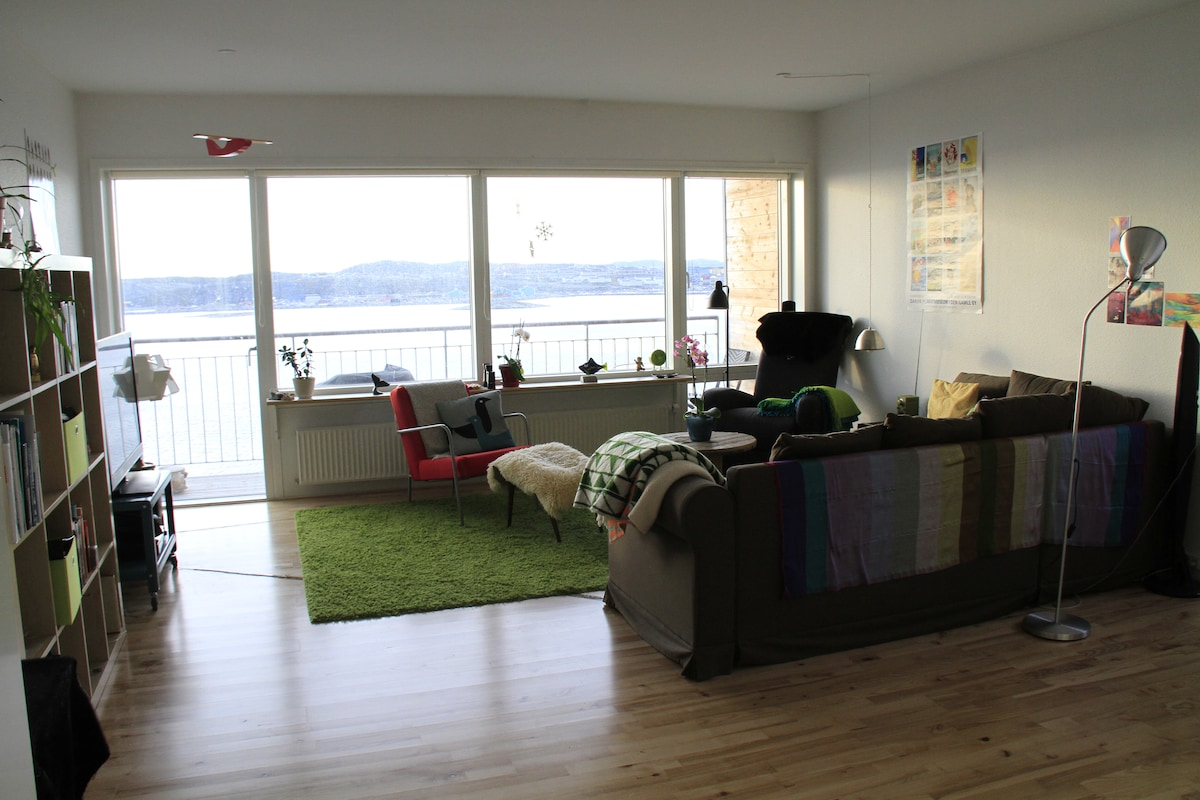 Relax in Nuuk with stunning views