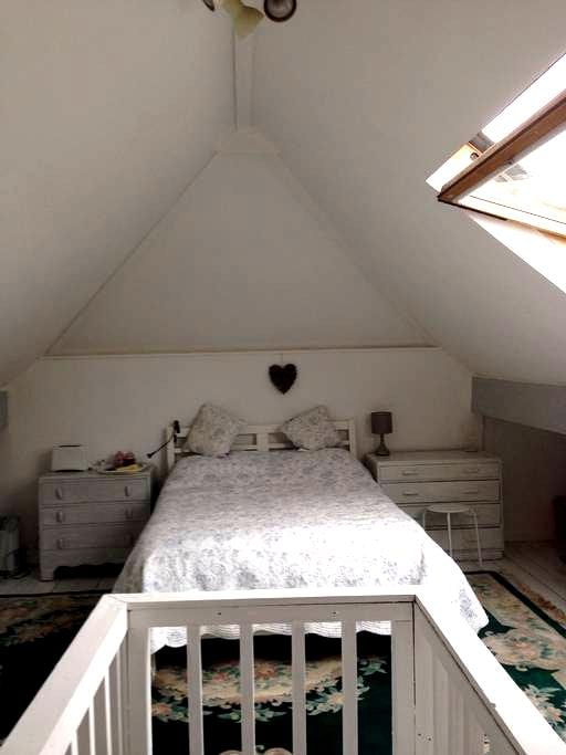 Lovely large cosy  loft - Manchester - Casa