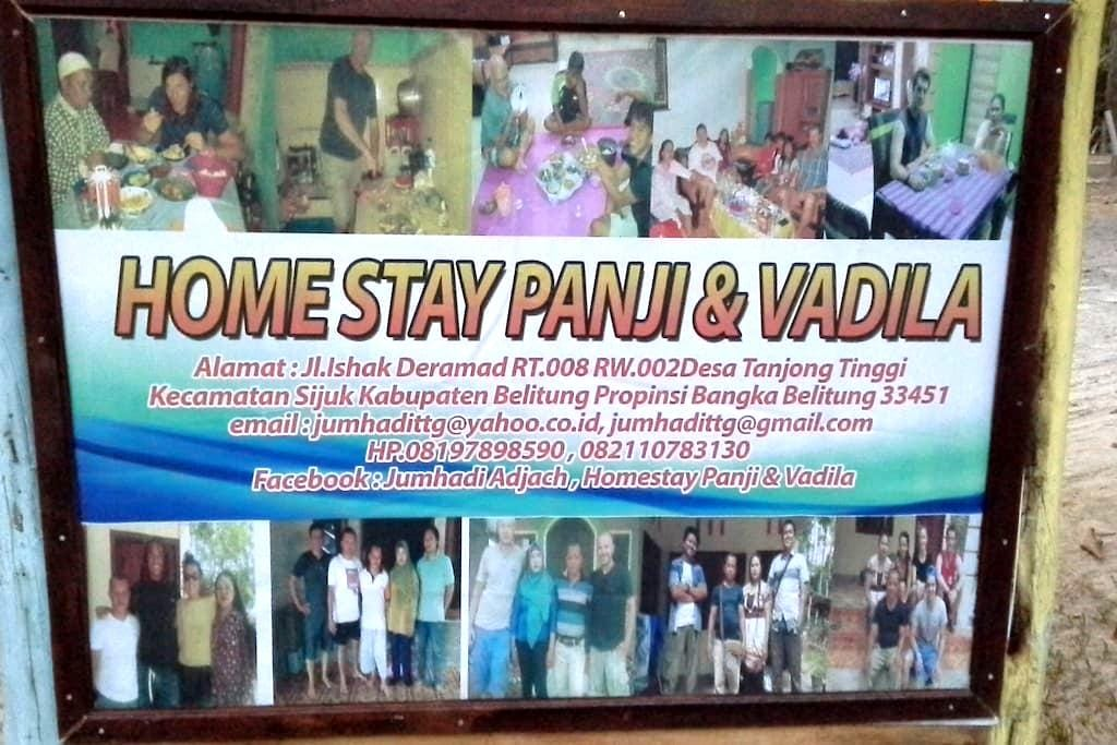Home Stay Panji & Vadila - Tanjung Pandan - Bed & Breakfast