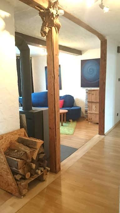Gemütliche helle 2,5 Zi Whg in ES - Esslingen am Neckar - Apartamento