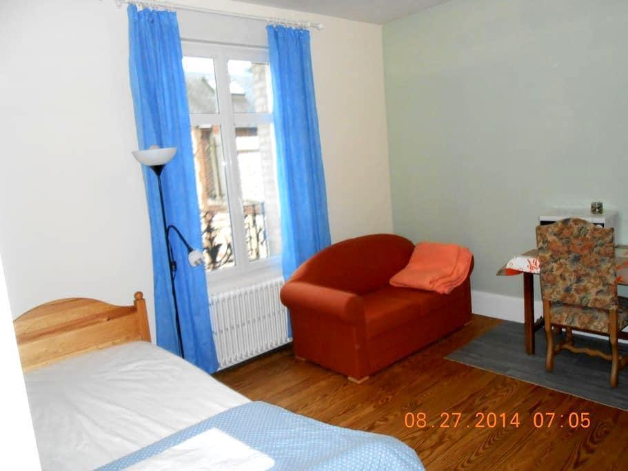 Chambres ( 1 ou 2 de 1 à 4 person) - Saint-Aubin-lès-Elbeuf - Haus