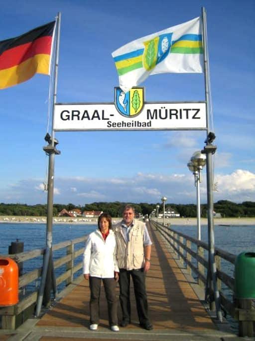 Ostsee-Ferienwohnung 200 m zum Strand - Graal-Müritz - Apartament
