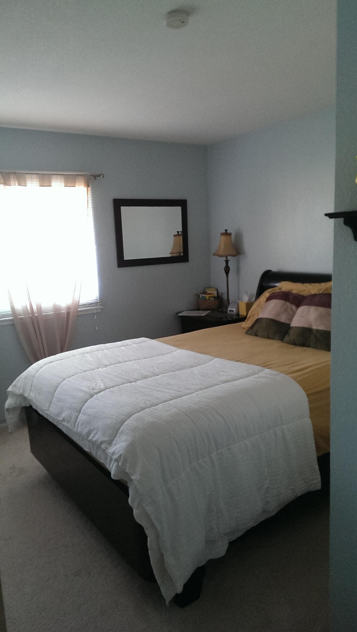 Santa Clara, CA Private Bed & Bath