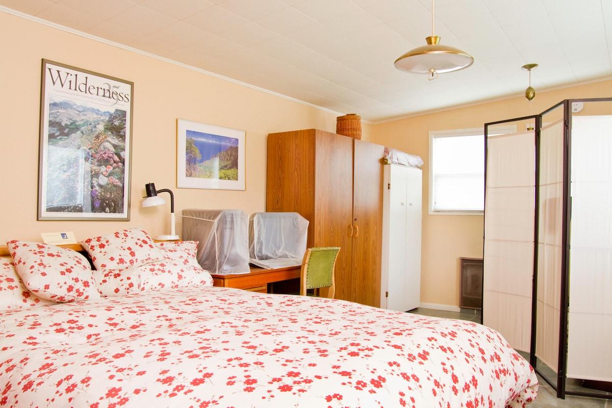 Bedroom in cabaña