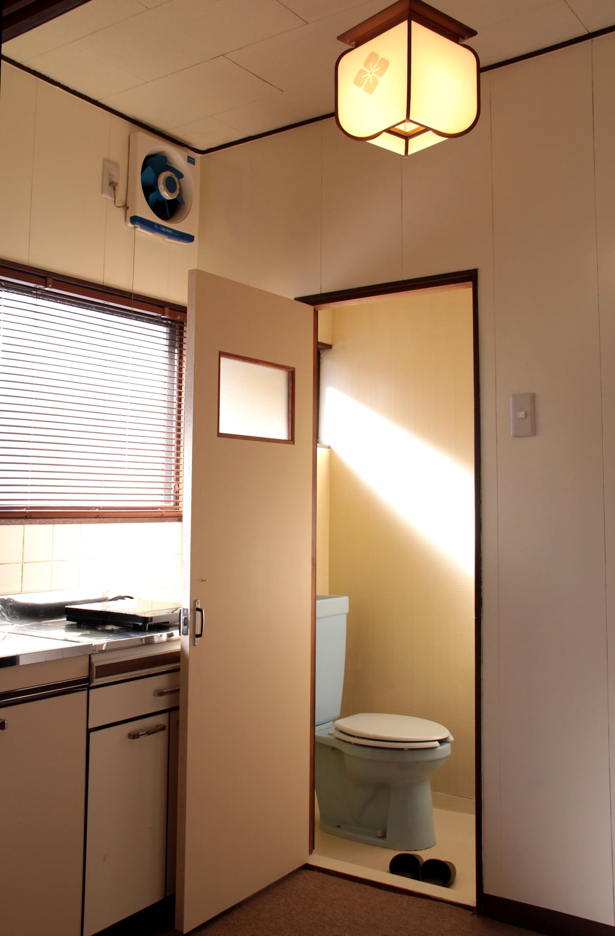 Each room has its own personal Western style restroom.