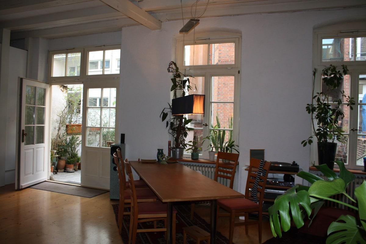 1-2 Rooms in Heidelberg Weststadt