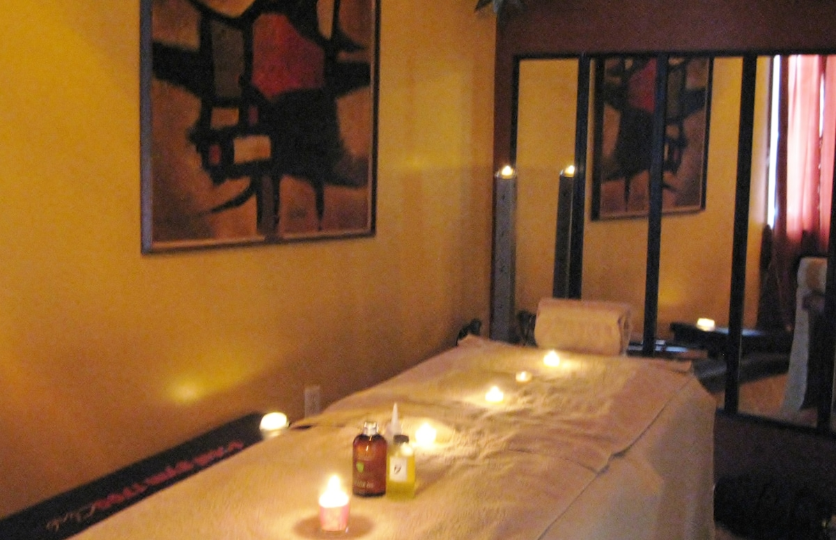 Schedule a relaxing massage with Ruth  (Licensed Massage Therapist: 30 1/2 hour or 60 1 hour)