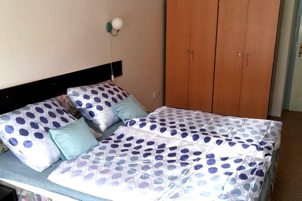 Blue Romantic Room in Prague Letná - Prague - Apartment