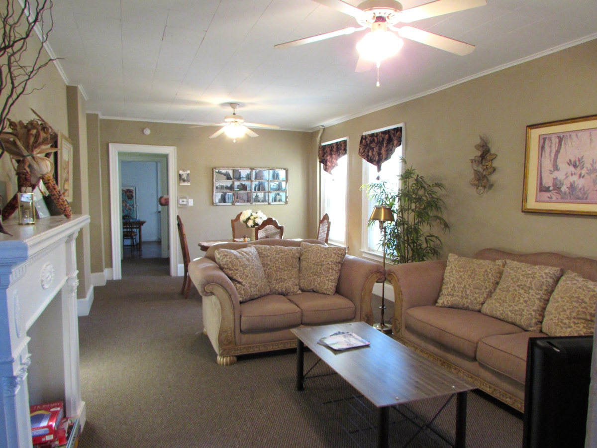 Living and Dining Areas from entrance to the house