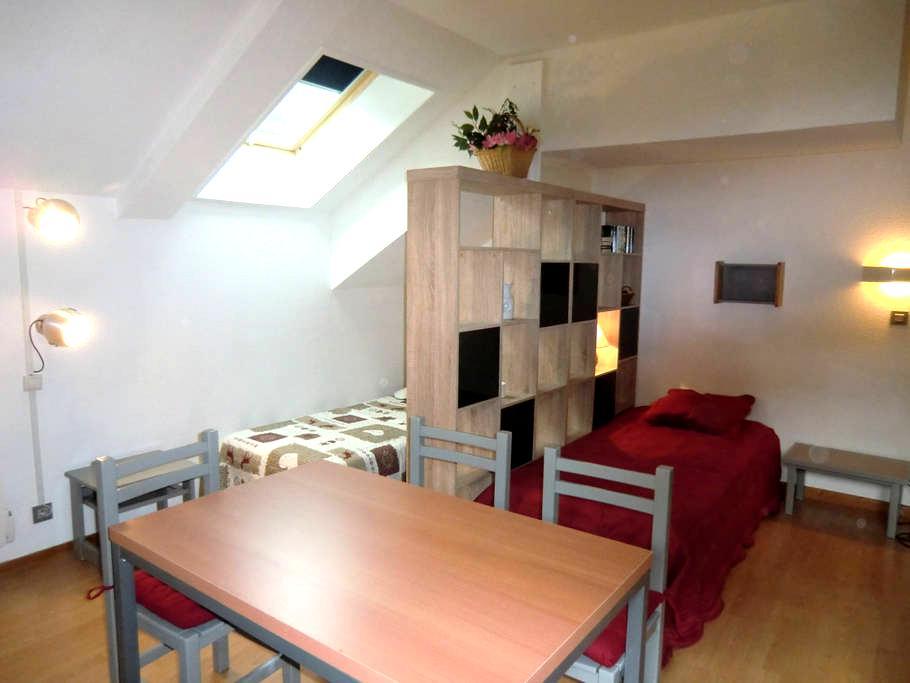GRAND STUDIO 36 M2 - PARKING - WIFI - Brides-les-Bains - Appartement