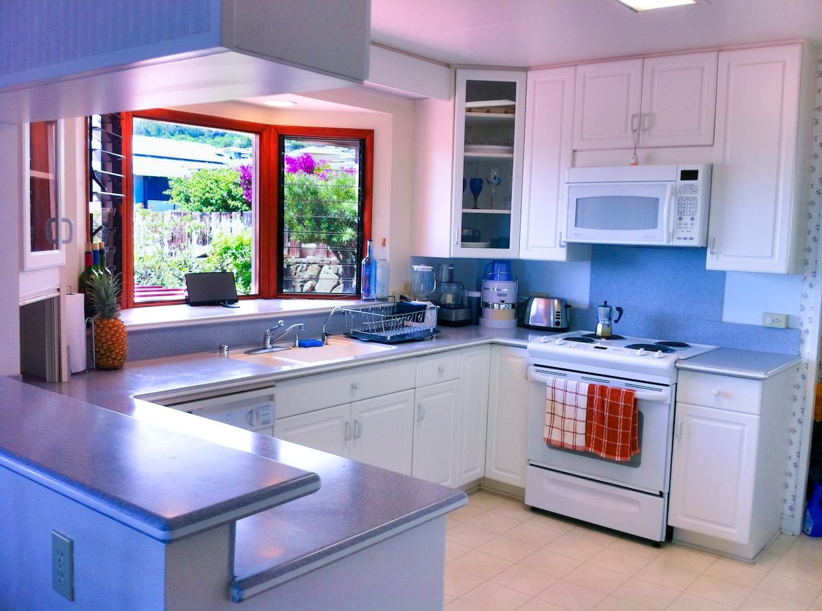 Very spacious and accessible kitchen
