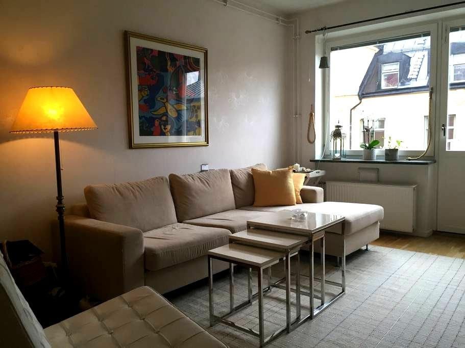 Top location, 5th floor, balcony - Stockholm - Appartement