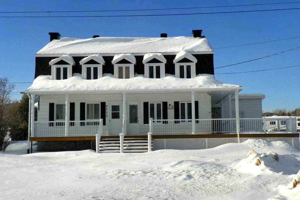 Maison de campagne - Skieurs - Saint-Ferréol-les-Neiges
