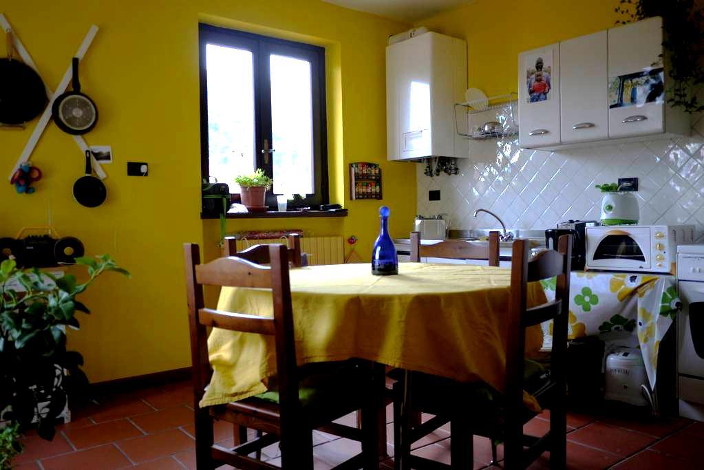 Room at the gateway of Valle Stura - Borgo San Dalmazzo - House