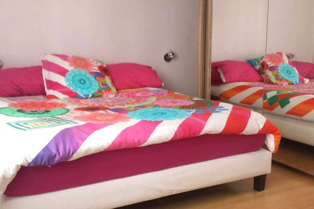 chambre confortable proche Geneve et lac - Veigy-Foncenex - Apartamento