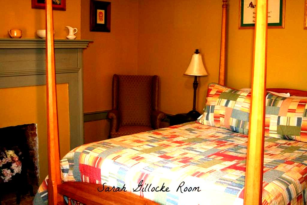 Pvt w/ pvt en suite, Walk to Pippin Hill Vineyard - North Garden - Bed & Breakfast