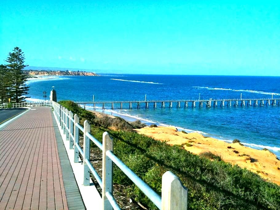 Best reef views in Port Noarlunga! - Port Noarlunga - Huis