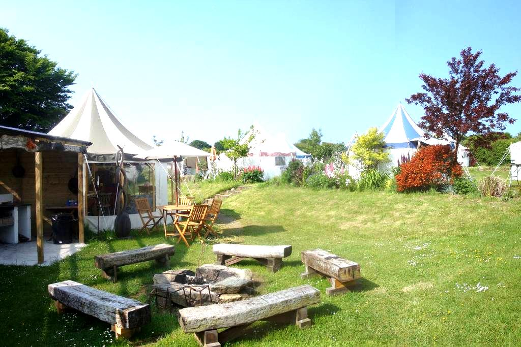 Belle Tents Camping - Whole Site - Davidstow - Telt