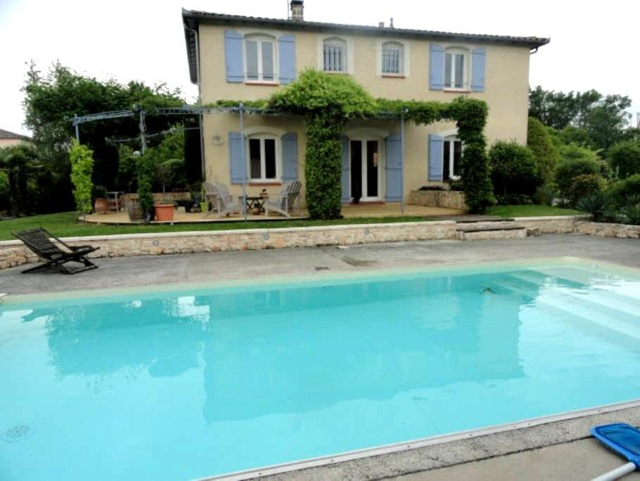 Chambre dans Maison à 20mn de Toulouse et Aeroport - Saint-Sauveur, Haute-Garonne