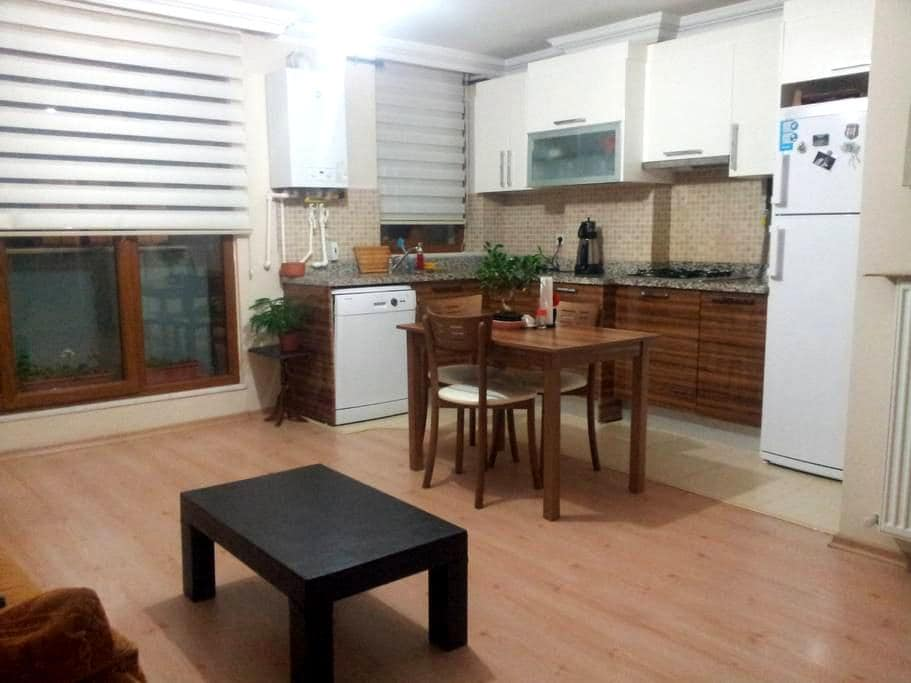 plain chic flat 5 min to subway  - Istanbul - Appartement