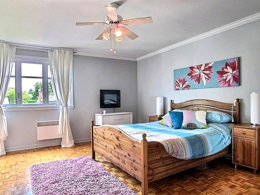 Maison à louer dans secteur paisible - Saint-Bruno-de-Montarville - Hus