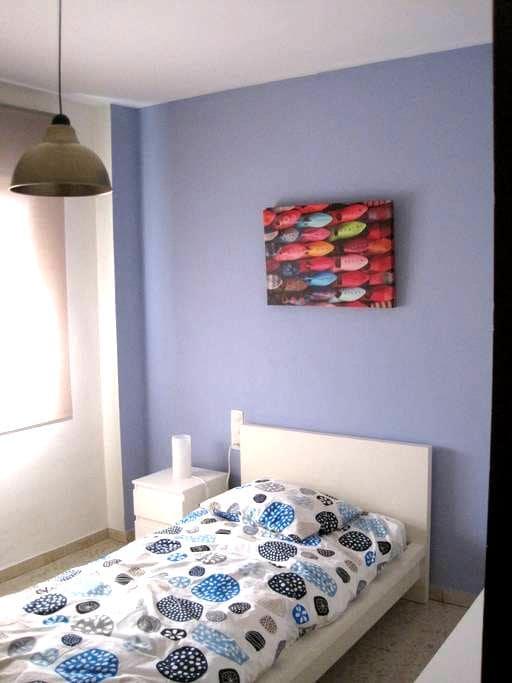 Accogliente camera singola molto luminosa - Málaga - Hus