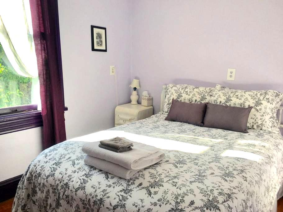 Quiet room in Uptown Victorian - Kingston - Dom