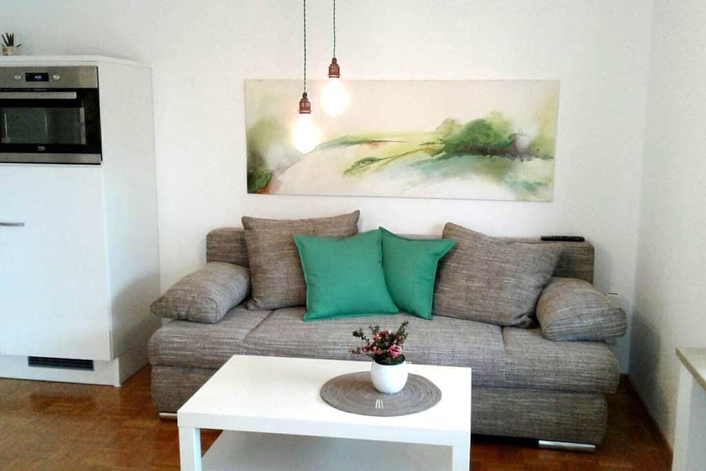 2-Zimmer Wohnung mit Wohnküche, eigener Eingang EG - Ergolding - Erillinen asuinyksikkö