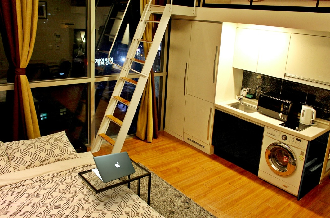 欢迎咨询 My home @ Myeongdong(Loft) A