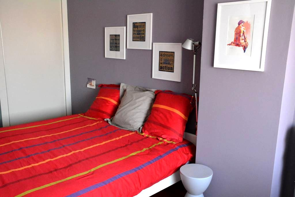 Spacious room with private bathroom/toilet - Roeselare - Dům