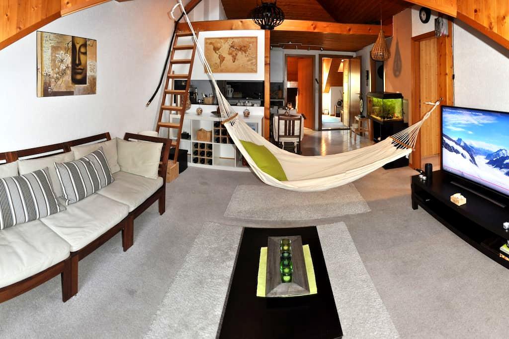 AZA Home. Private room in the Heart of Interlaken - Interlaken - Wohnung