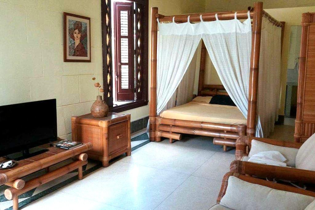 Villa Lola. Habitación Bambú - Vedado - บ้าน