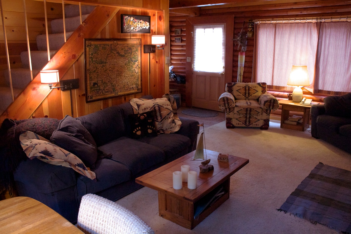 """Our guests often say one word of this place: """"comfy""""!"""