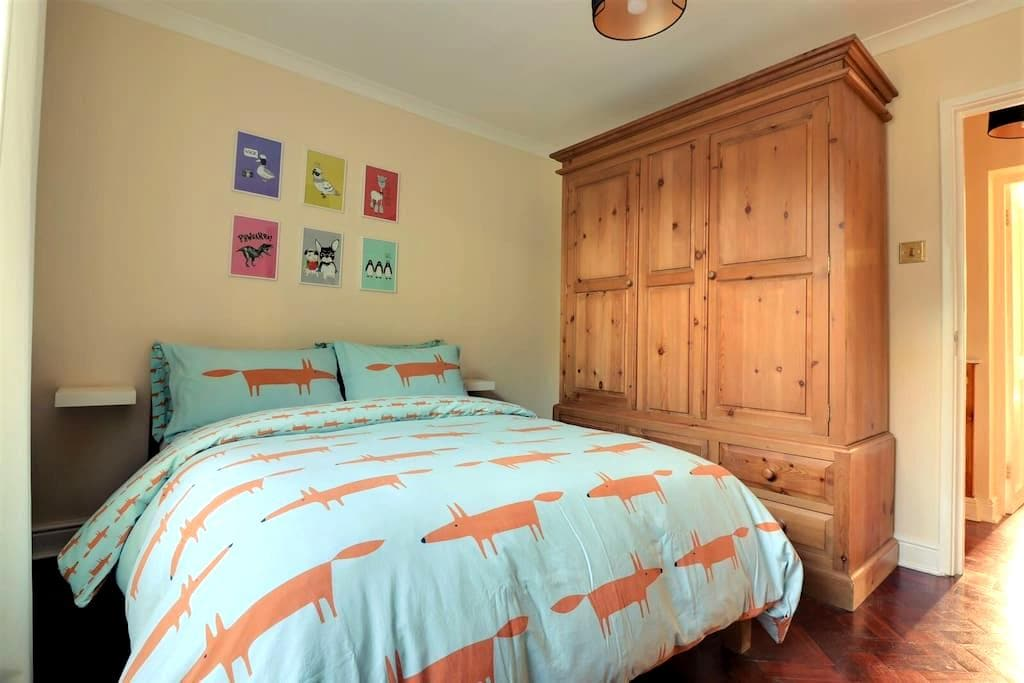 Double room in Georgian garden apartment - London - Wohnung