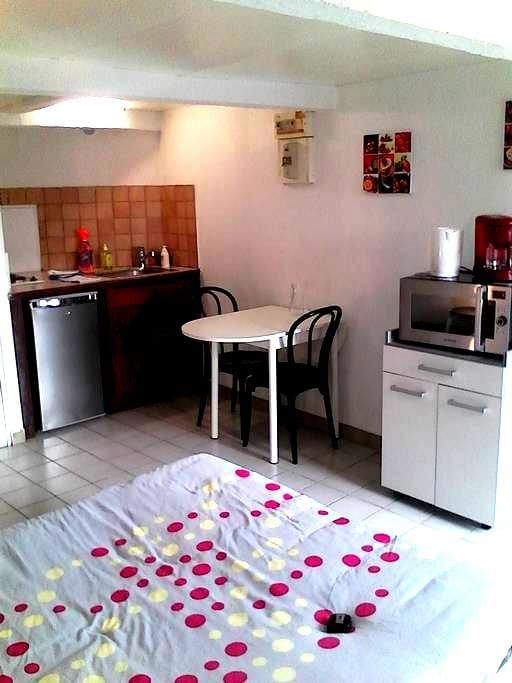 studio+garage+à pieds:10mn centre-5mn gare-5mn TAP - Poitiers - House