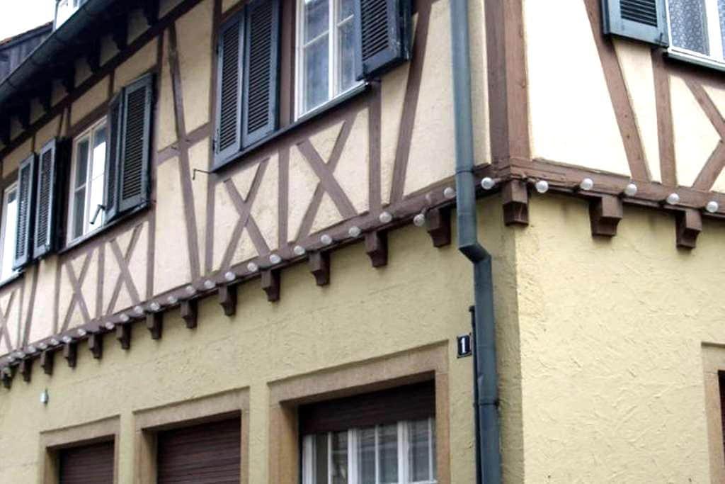 Micro-Apartments im Herzen von Reutlingen - Reutlingen - Leilighet
