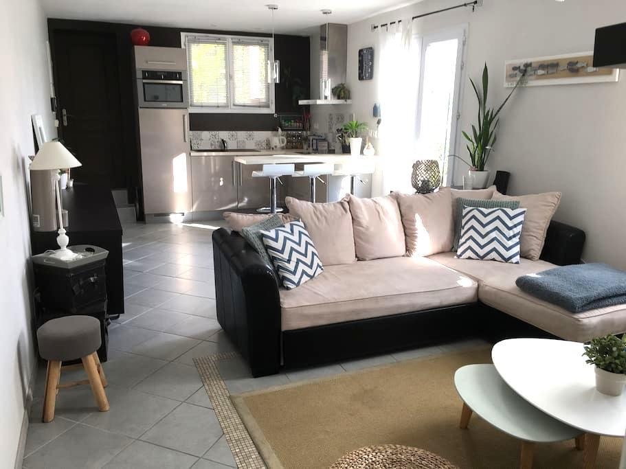 Charmante petite maison ensoleillée - Royan - Dom