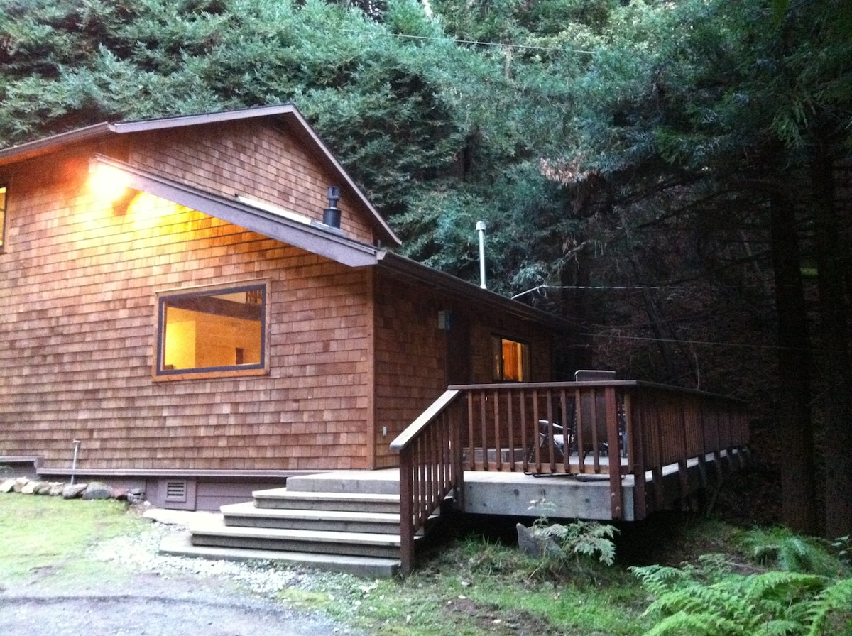 Big Sur-ene Redwoods Retreat!
