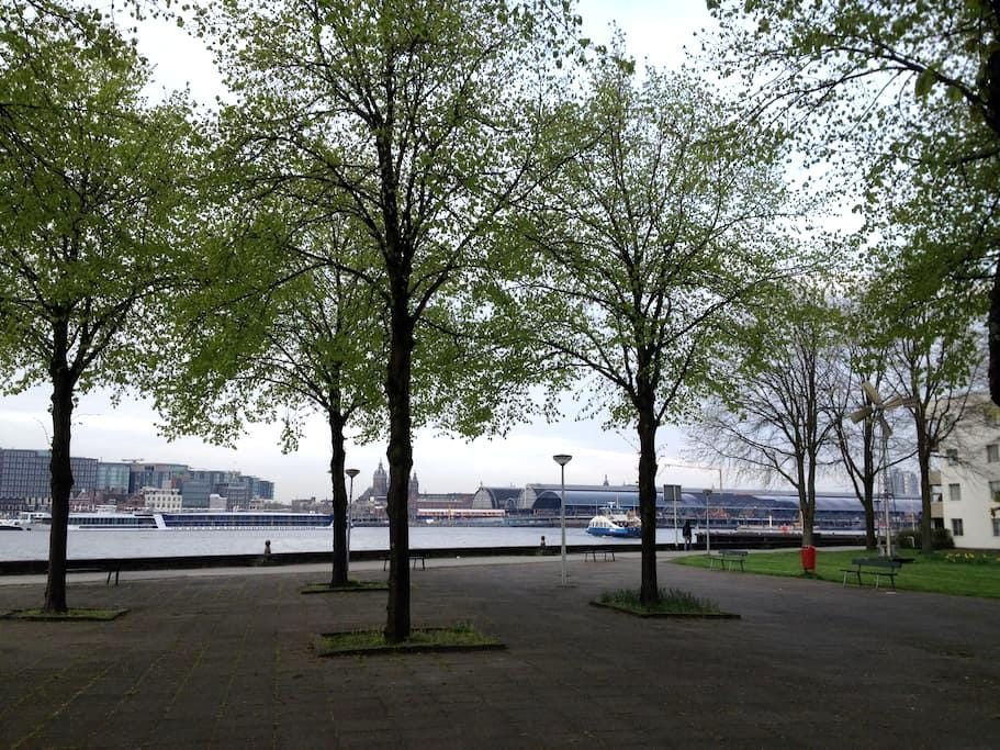 Living in Amsterdam (Private Room - CS area) - Amsterdam - Apartment