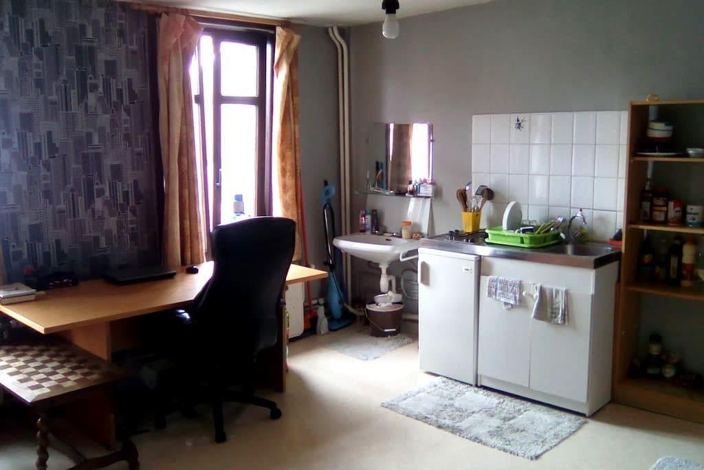 Au coeur de la Place Mansart - La Louvière - Appartement