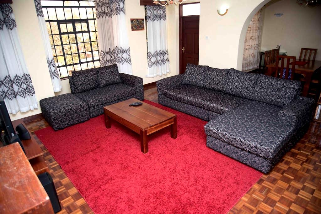 Double ensuite room in kilimani I - Nairobi - Apartament