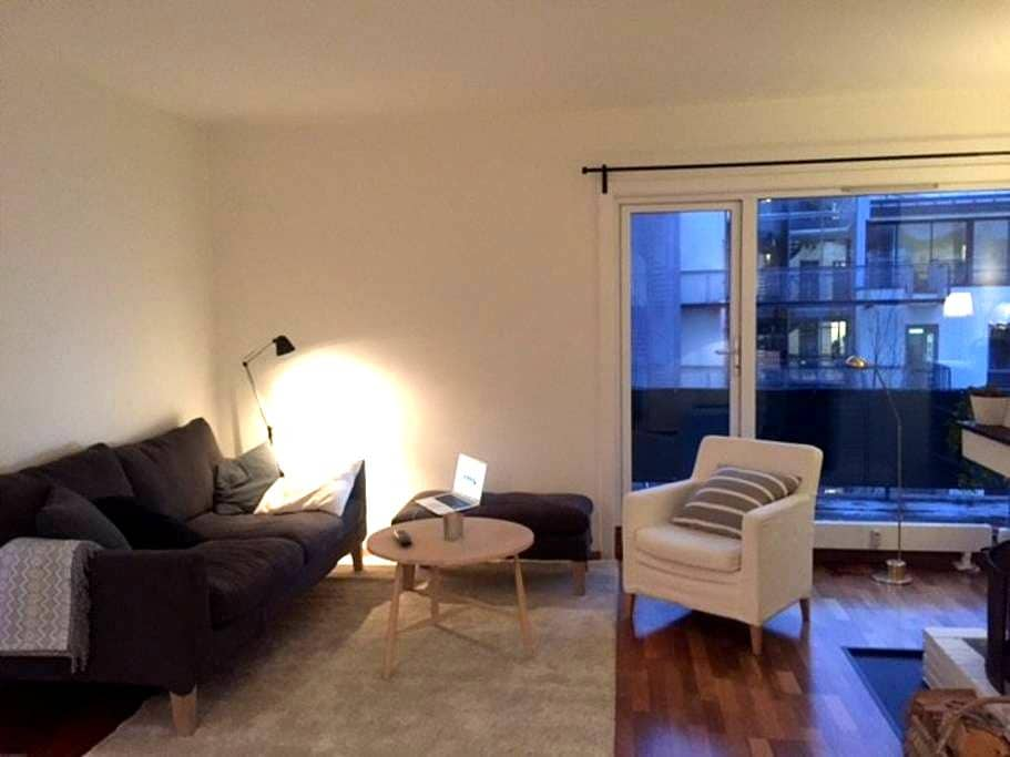 Top floor apartment in Oslo, with private terrace - Oslo - Lägenhet