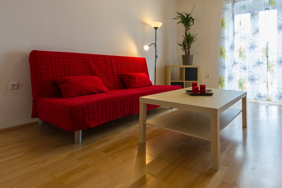 Komfortable 72m² in the citycenter
