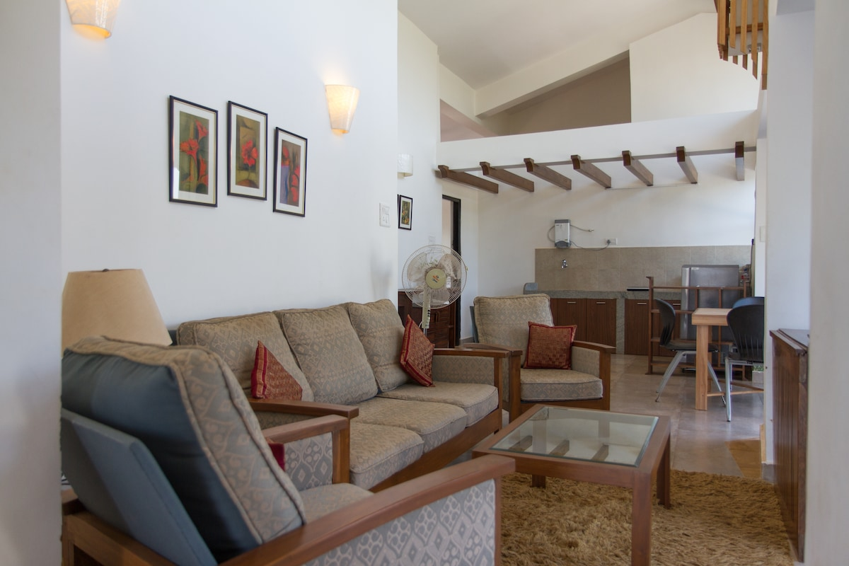 3 Bedroom Penthouse in Calangute