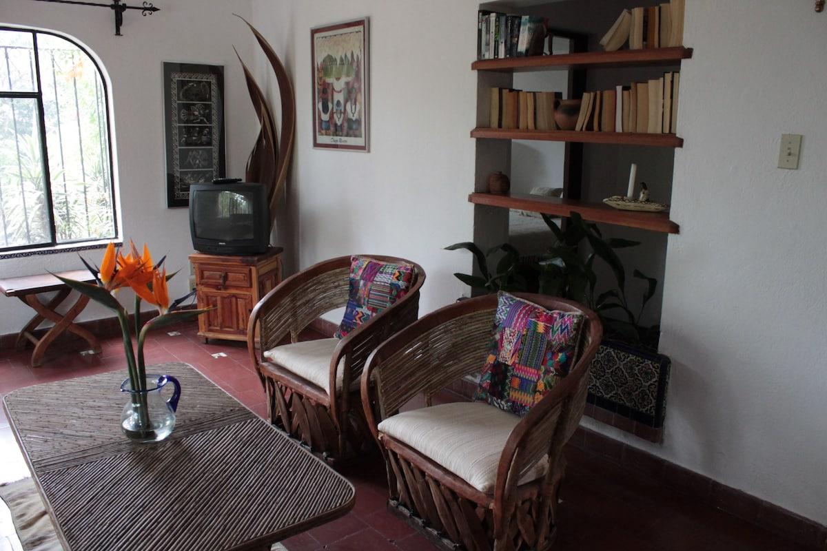 Sala/ Living area view.