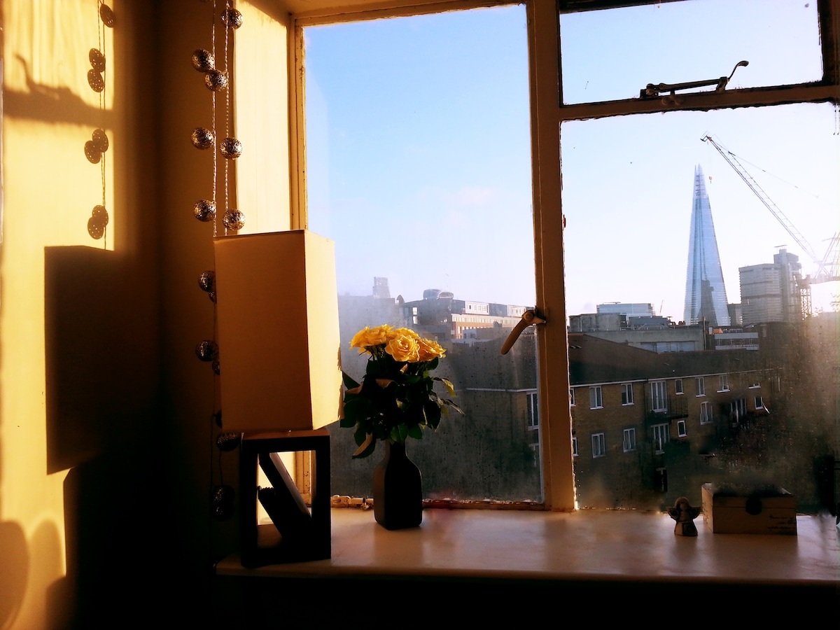 Room with a view in Central London